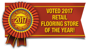 Voted 2017 Retail Flooring Store of the Year